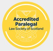 Law Society of Scotland Accredited Paralegal logo