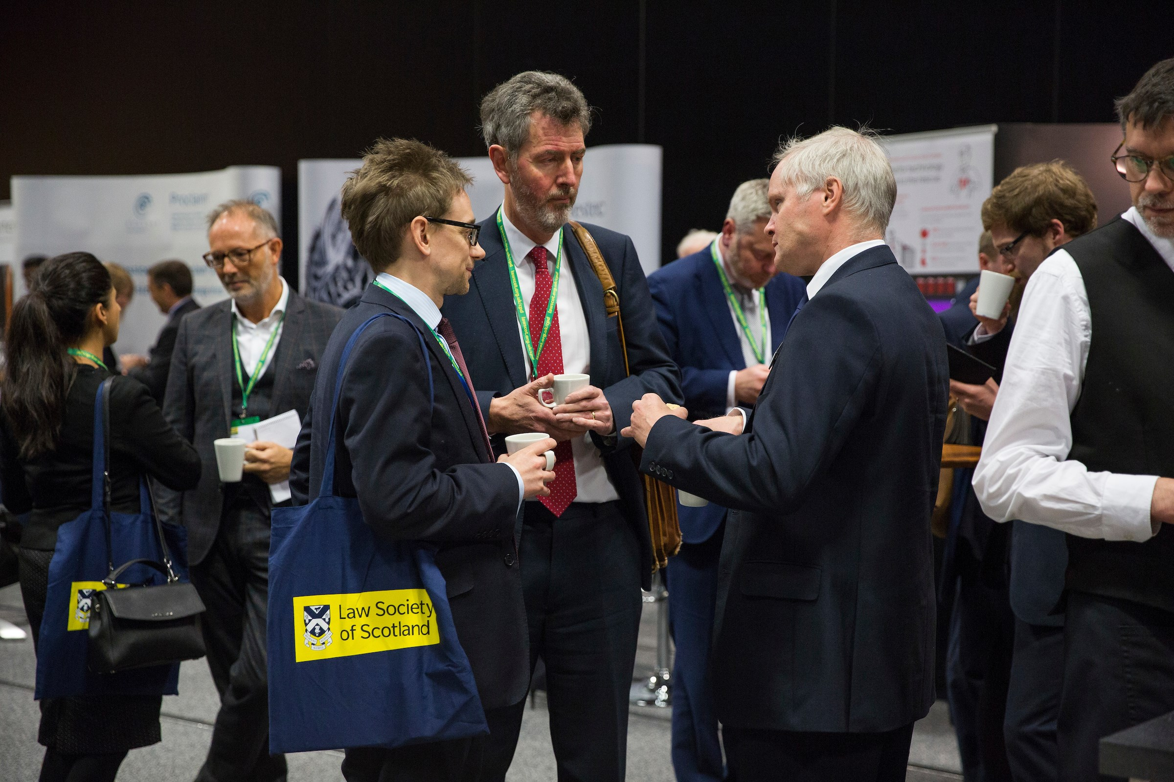 There are plenty of opportunities to network with other delegates, speakers and exhibitors.