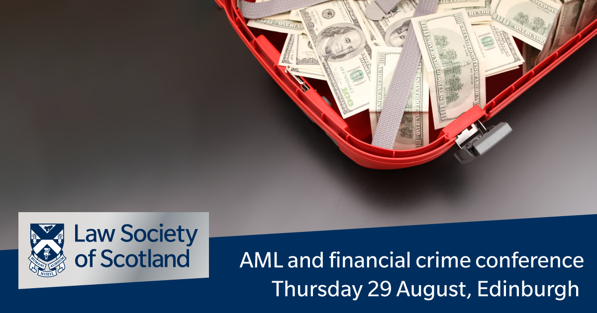 Anti-money laundering and financial crime conference 2019