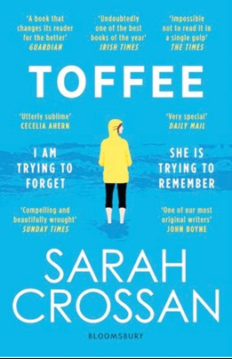 Toffee, by Sarah Crossan, Cover image