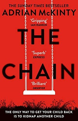 Cover: The chain by Adrian McKinty