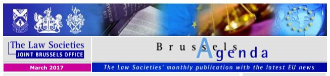 Brussels Agenda March 2017