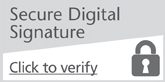 Generic secure digital signature logo