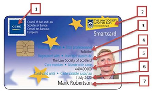 Law Society of Scotland Smartcard